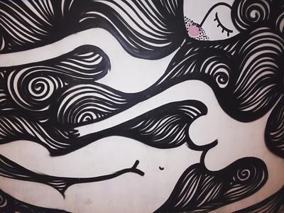 Θηλυκό - Female αθήνα φωτογραφία τοιχογραφία τέχνη δρόμου σχέδιο athens photography photo retouching urban art street art graffiti wall design graphic design illustration storytelling