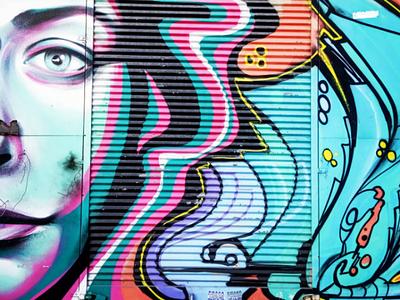 Σέ βλέπω - I can see you αθήνα φωτογραφία τέχνη δρόμου τοιχογραφία σχέδιο athens photography photo retouching urban art street art graffiti wall design graphic design illustration storytelling