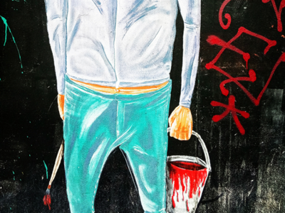 Ο Τοιχογράφος - The Wall Designer αθήνα φωτογραφία τοιχογραφία τέχνη δρόμου σχέδιο athens photography photo retouching urban art street art graffiti wall design graphic design illustration storytelling