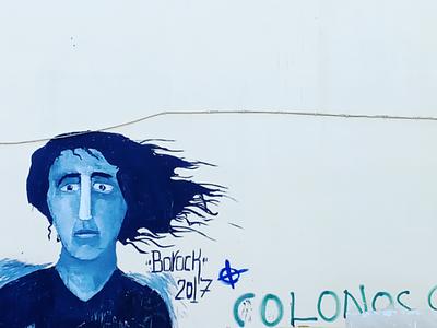 Κολωνός - Colonos αθήνα φωτογραφία τοιχογραφία τέχνη δρόμου σχέδιο athens photography illustration photo retouching cms ux web design storytelling
