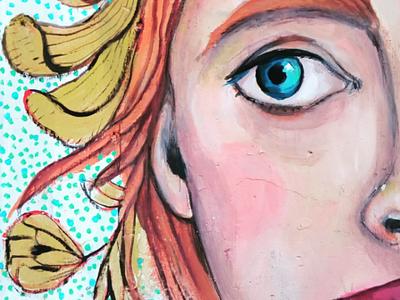 Τό κορίτσι - The girl αθήνα φωτογραφία τοιχογραφία τέχνη δρόμου σχέδιο athens photography illustration photo retouching cms ux web design storytelling