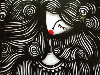 Θηλυκό - Female urban art street art τέχνη δρόμου graffiti athens photography storytelling wall design illustration αθήνα φωτογραφία τοιχογραφία σχέδιο photo retouching