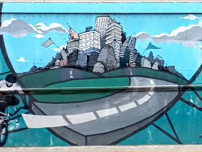 Στην πόλη - In the city athens photography street art τέχνη δρόμου urban art graffiti wall design illustration photo retouching storytelling αθήνα φωτογραφία τοιχογραφία σχέδιο