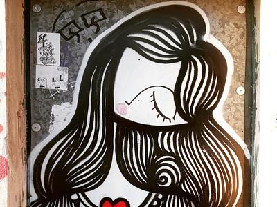 Θηλυκό - Female athens photography photo retouching storytelling urban art street art wall design illustration αθήνα φωτογραφία τέχνη δρόμου τοιχογραφία σχέδιο
