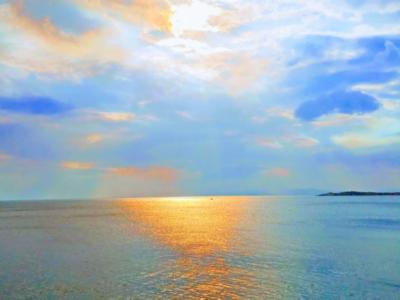 Ο ανοιχτός ορίζοντας 💙🧡 - The open horizon 💙🧡