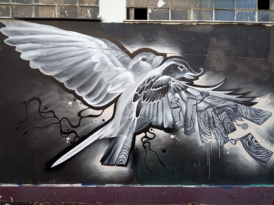 Τοιχογραφία στήν Αθήνα - Athens Wall Design