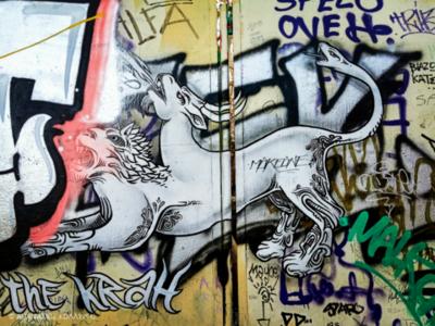 Τοιχογραφία στην Ακρόπολη - Acropolis Wall Design