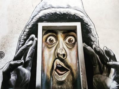 Τοιχογραφία στα Εξάρχεια - Athens Wall Design