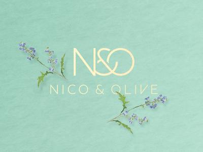 Nico and Olive Logo Design handbag fashion logo branding logo design