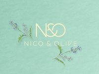 Nico and Olive Logo Design