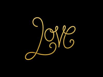 Love Lettering graphic design illustration hand lettering typography lettering