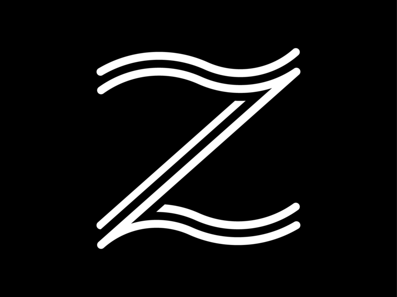 Z graphic design glyph a glyph a day letterforms letterform design typography vector