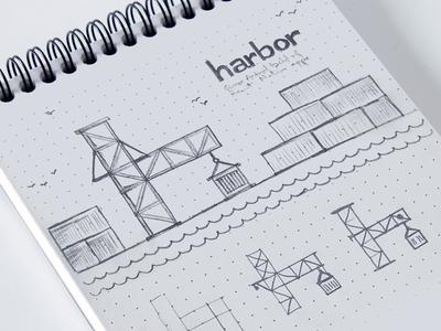 Harbor app initial exploration sketch