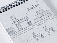 Harbor app initial exploration sketch
