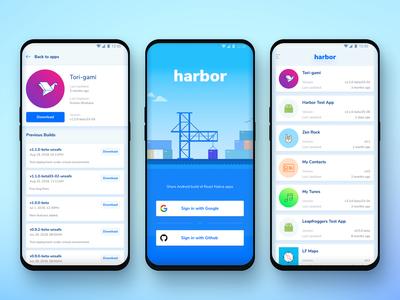 Harbor Android App Design