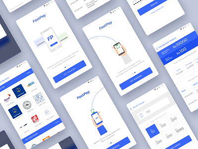 Fastpay - Mobile balance topup and payment concept app concept topup payment android ui