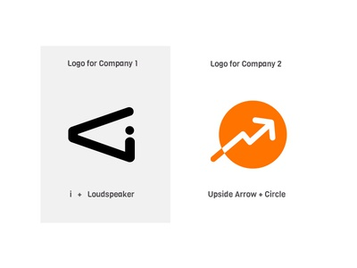 Two Logos for Different Brands