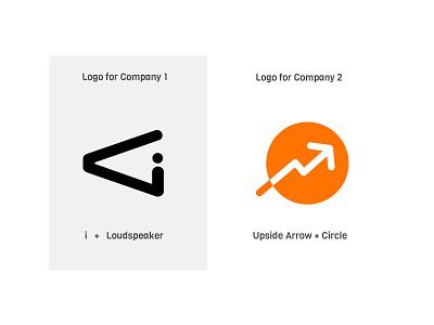 Two Logos for Different Brands trend logo circle logo speaker logo arrow logo graphics branding logo