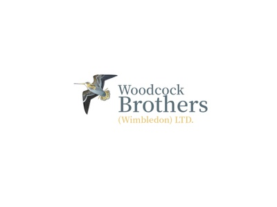 Woodcock Bird Illustrative Logo property logo illustration art illustration illustrative logo business logo bird logo logo design