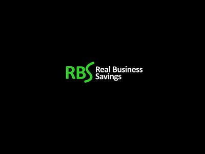 Real Business Savings - Logo Design monogram logo monogram illustrator logo design rbs logo r logo letter logo letter mark logo lettermark logo lettermark logo design lettermark corporate logo financial logo finance logo business logo