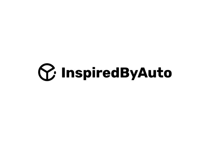 InspiredByAuto - Branding unique logo creative logo automobile logo car logo auto logo logo design blog logo