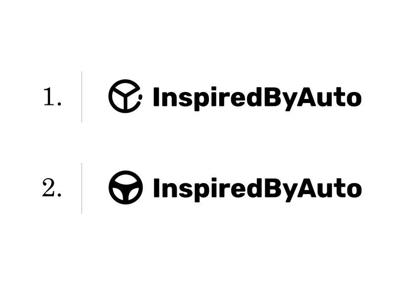 Inspiredbyauto: 1 or 2 unique logo automotive logo automobile logo auto logo car handle logo car logo logo design creative logo logodesign