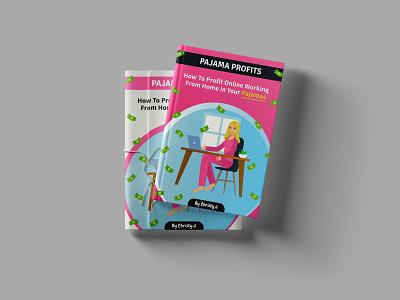 Pajama Profits - Ebook Cover Design graphic design book cover design book cover cover artwork cover cover design ebook layout ebook design ebook cover ebook