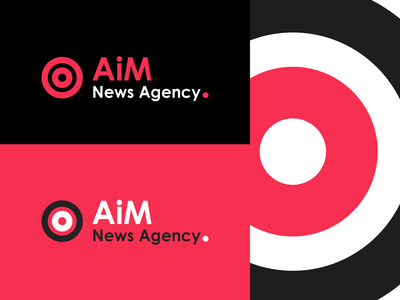 AiM News Agency branding design beautiful logo creative logo design logo designer brand business logo creative logo branding logo logo design