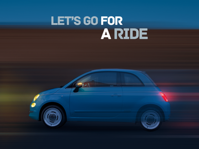 Let's Go for a Ride creative graphics graphic design graphic night photoshop drive ride automobile automotive lightning lights motion graphics motion design car