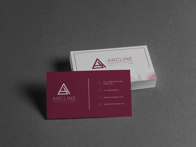 Arcline Commercial Builders - Business Card Design