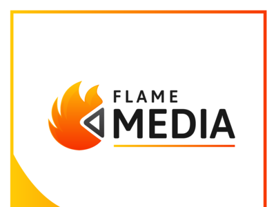 Flame Media Logo Design