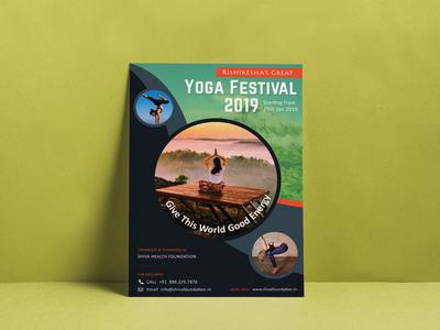 Yoga Festival Poster Design