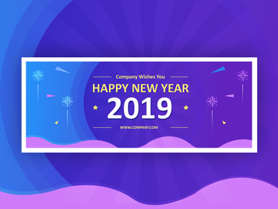 Banner for New Year 2019