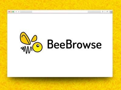 BeeBrowse Logo Design