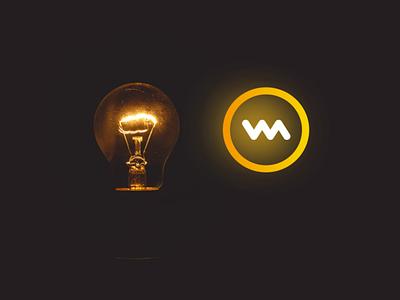 Concept for Website Inspiration Logo creative idea creative thought branding concept bulb logo brand identity design creative brand concept creative logo