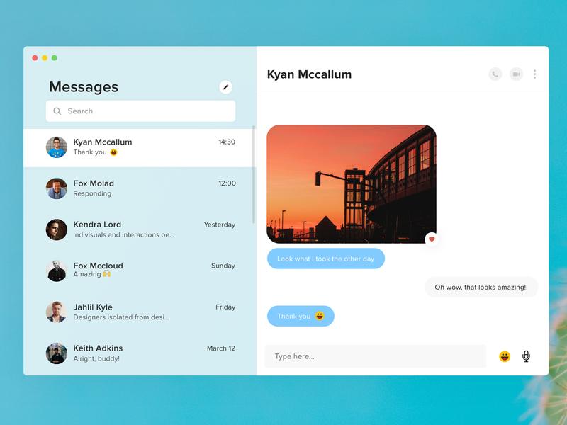 Simple Messages App