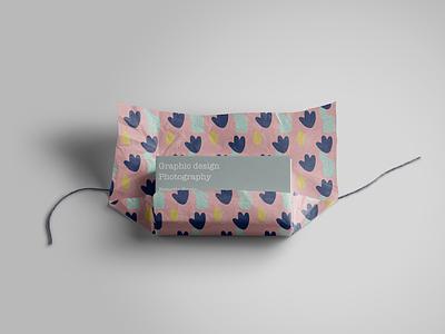 Agnes. product design designer design surface design pastel colors paper wrapping paper stationary digital art