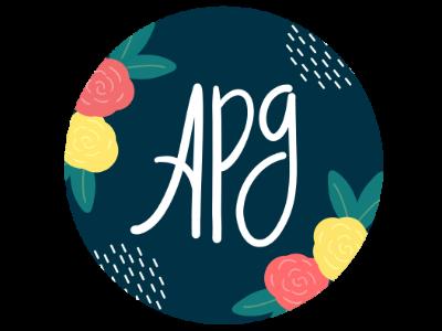 New logo for personal brand. palette design product brand lettering art digital botanical flowers logo