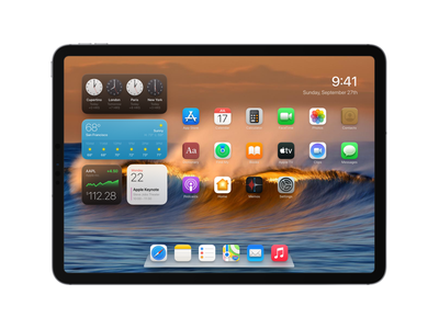 iPadOS with more Depth shadow skeuomorphism apple homescreen depth ipados