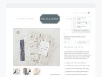 Ollie + Olina | Final Website