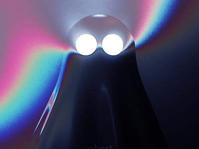 Ghost cinema4d c4d ps photoshop