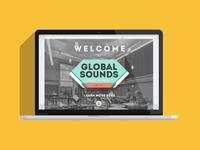 Global Sounds / Music School /  WEB