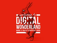 Digital Wonderland Invite