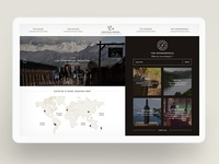 Estate & Wines - Website Concept