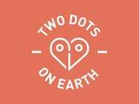 Two Dots On Earth - Logo