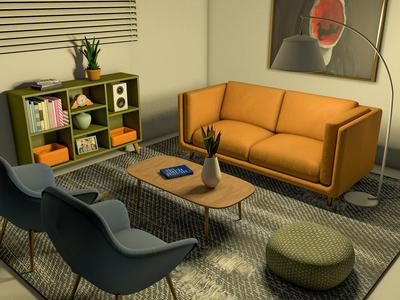 Home C4D Rendering