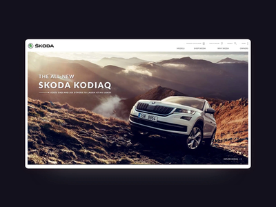 Skoda Car Showcase
