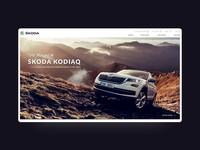 Skoda Car Showcase