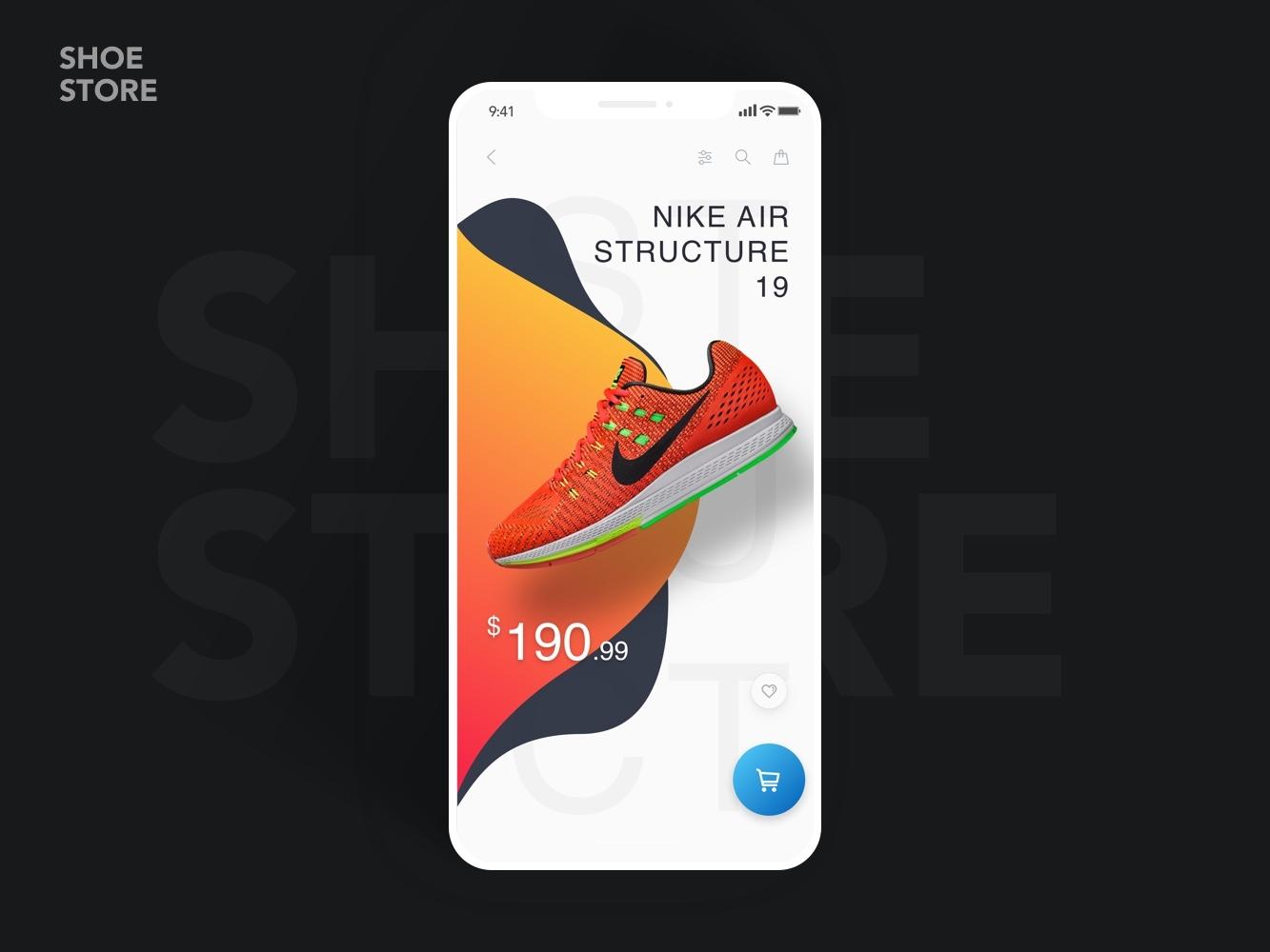 Nike dribbble shot