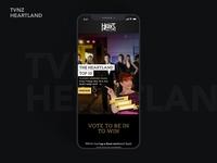 Tvnz Heartland Voting site